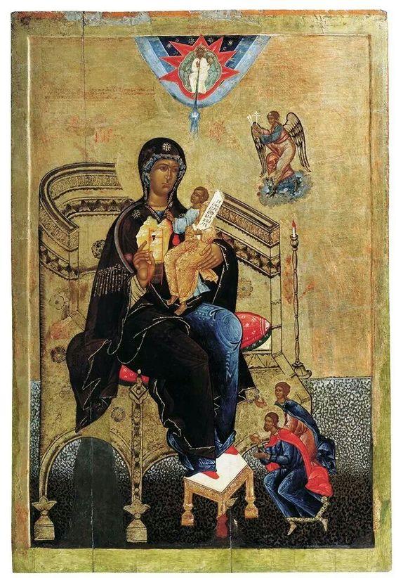 Богородица Гора нерукосечена: