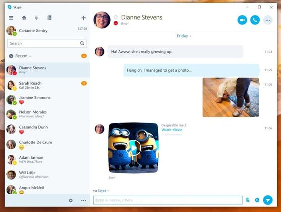 Microsoft To Reunify Skype Calling Messaging Video In New Universal Windows 10 App Universal Windows Windows App Design Microsoft