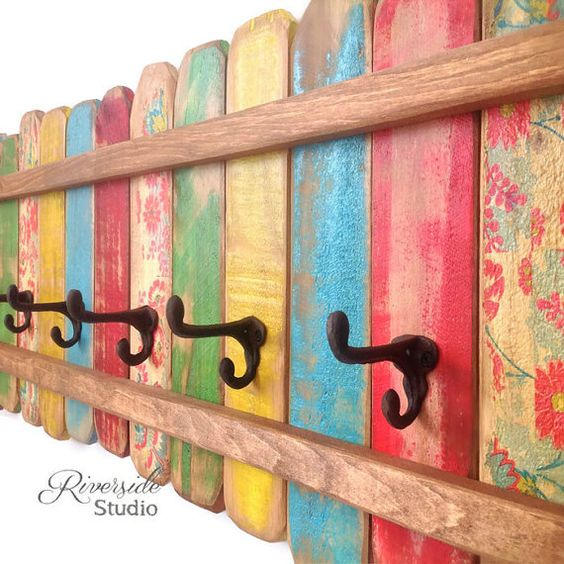 Hey, I found this really awesome Etsy listing at https://www.etsy.com/listing/221679719/wood-coat-rack-ooak-cast-iron-coat-hook