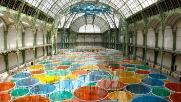 Daniel Buren at Paris's Grand Palais