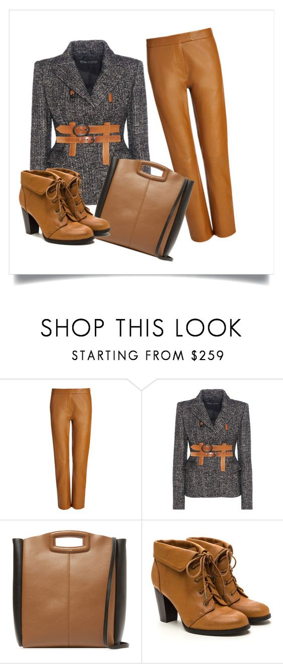 """Autumn and Winter"" by byferial on Polyvore featuring Joseph, Tom Ford and Maje"