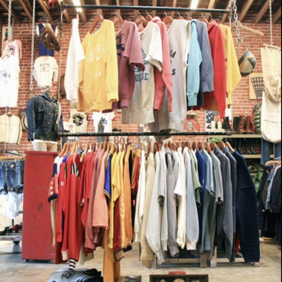 Showroom in the L.A. flats - Wonka Factory of vintage menswear