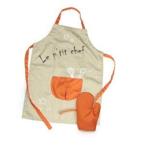 Tablier enfant gr ce son cordon ajustable il conviendra - Tablier cuisine enfants ...