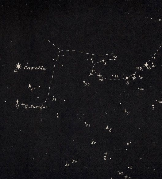 1891 perseus constellation original antique by antiqueprintstore $16