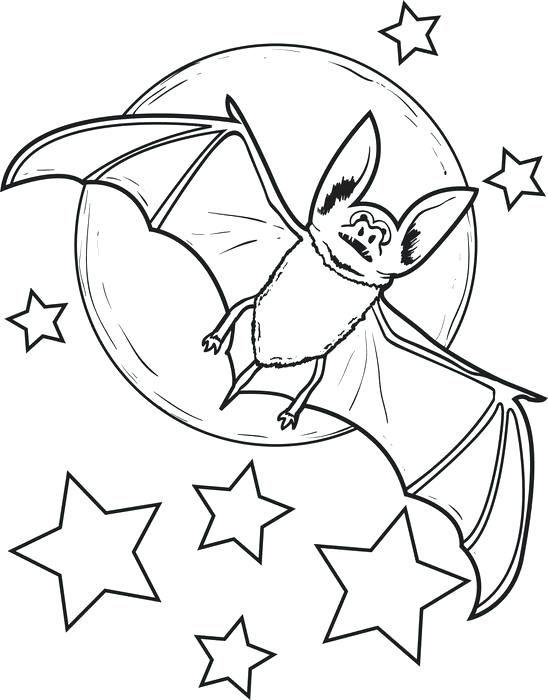 Fruit Bat Coloring Page Bat Coloring Pages Coloring Pages