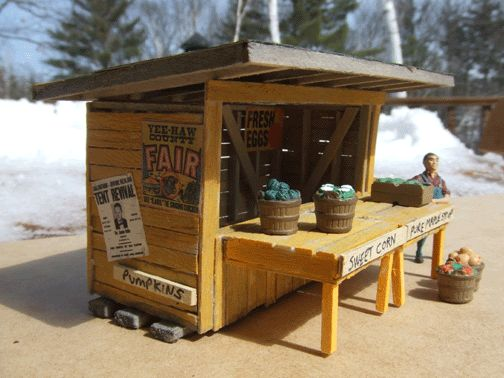 Roadside Stand Designs : Plans for a vegetable stand farm part