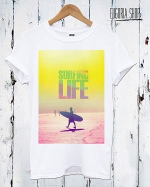 Surfing Life - Water Sport T-shirt by EugoriaShop