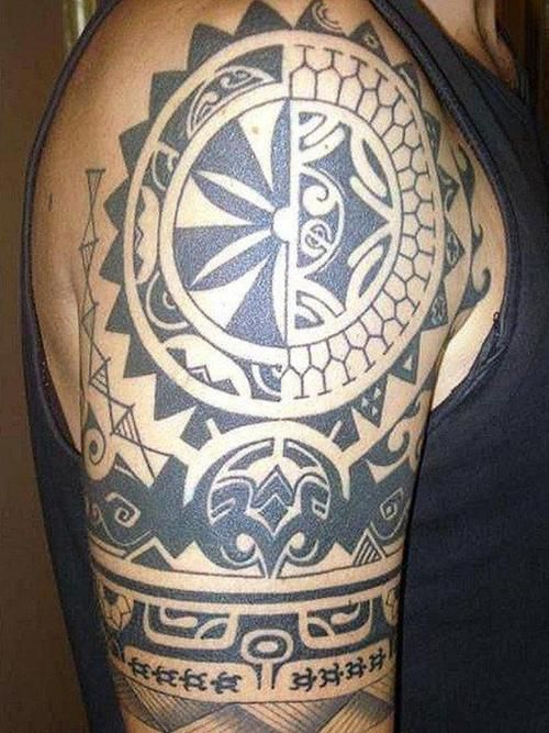 Maori And Tattoos And Body Art On Pinterest