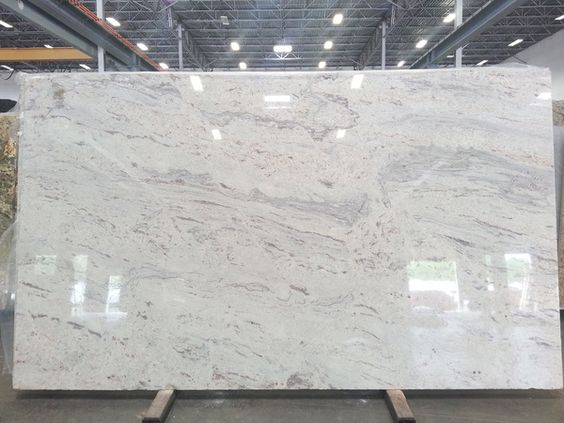 White Marble Counter : White granite colors for countertops ultimate guide