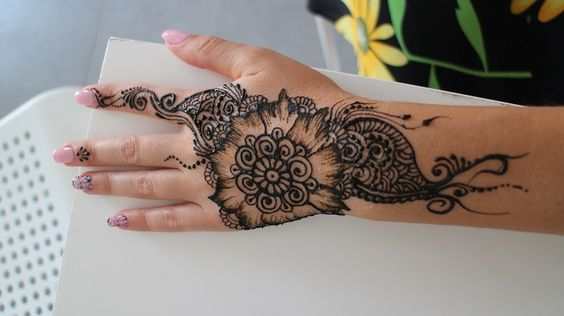 Henna for fun