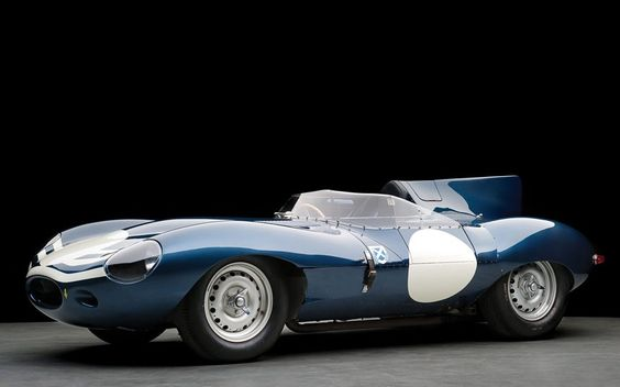 The highlight is his 1955 Jaguar D-Type, which was driven by Duncan Hamilton and Paul Frere