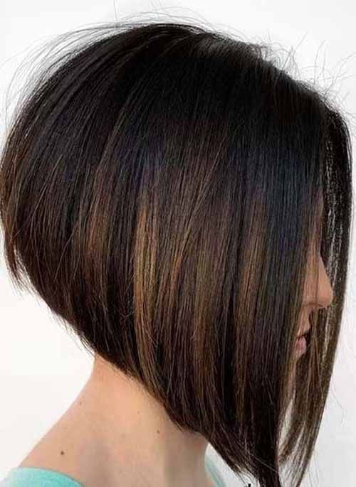 13 Best Angled Bob Hairstyles And Haircuts To Look You Cool Angled Bob Cool Haircuts H In 2020 Frisuren Haarschnitte Bob Frisur Dickes Haar Haarschnitt