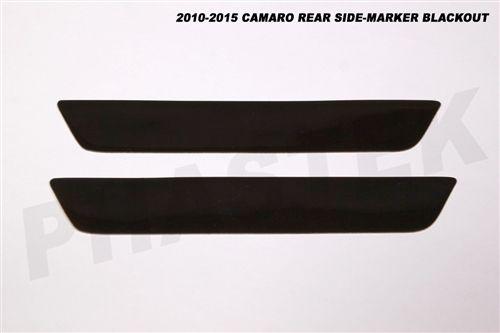 Camaro Rear Side Marker Black Out Kit Dark Smoke Lens Protection Fits All 2010 2015 Camaro Models Camaro Camaro Models Dark Smoke