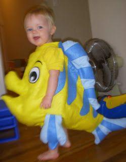 flounder little mermaid costume - Google Search