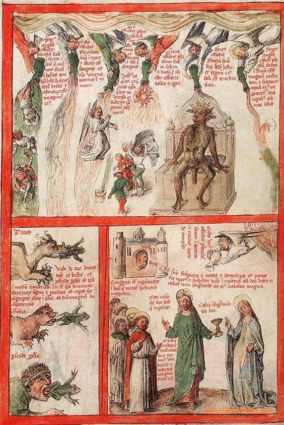 Liber Floridus - travails of the Apocalypse