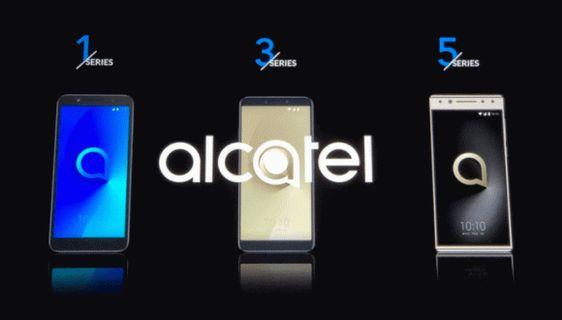 Alcatel'den Yeni Akıllı Telefonlar: 5, 3, 3X, 3V, 1X