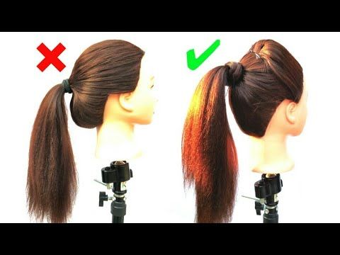 How To Make High Ponytail With Puff Ponytail Hairstyle Puff Hairstyle Girl Hairstyle Youtube Hair Puff Pony Hairstyles Ponytail Hairstyles