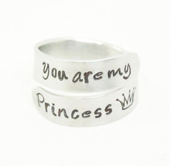 valentines gift daughter gift you are my princess ring by belvidesigns 1300 - Valentine Gift For Daughter