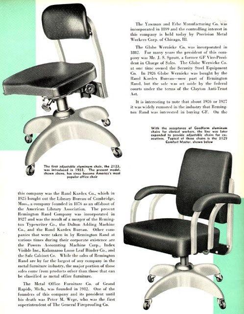 Goodform Comfort Master No 3129 Very Rare Aluminum Chairs