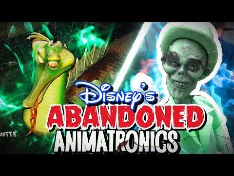Abandoned Disney Animatronics Youtube Disney Attractions Abandoned Disney