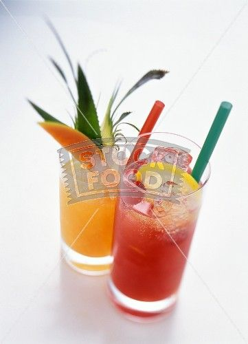 Exotic Fruit Cocktails