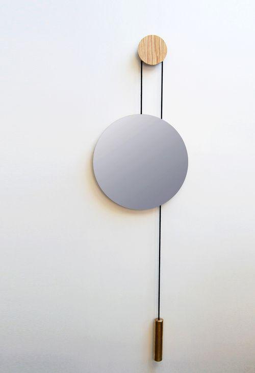 kupfer spiegel Hunting Narud design studio poliert stein