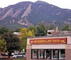 Mustard's Last Stand, Boulder, CO