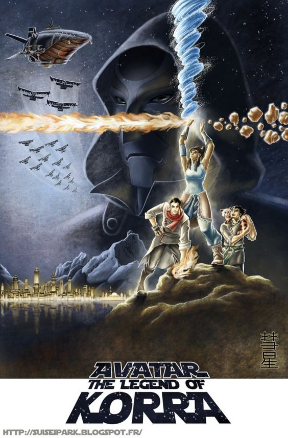Ha, this is awesome work!  The Legend Of Korra/Star Wars Poster Mash-Up