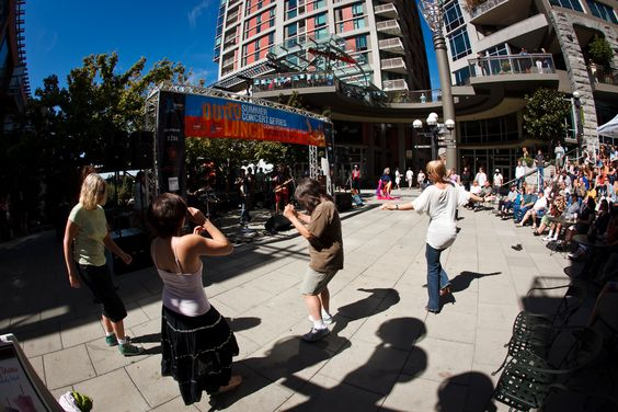 Out To Lunch Concert Series, #Seattle #Summer