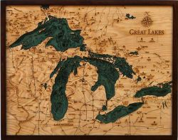 Great Lakes Woodchart