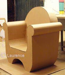 Nice paperboard armchair