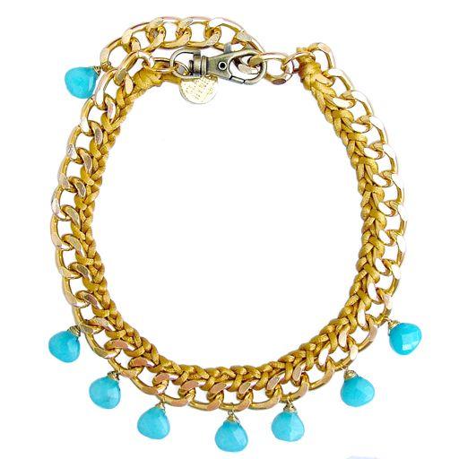 Clare Hynes Suyin Necklace (Blue)