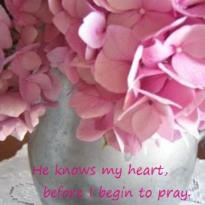 Before you say it...HE hears it.  www.faithfilledwomen.weebly.com