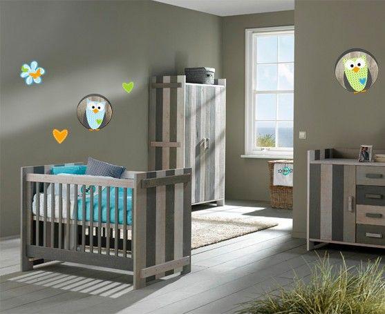 Muursticker uiltjes uil in boom babykamer babykamer idee 101 kinderkamer idee n - Babykamer decoratie ...