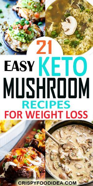 Keto Mushroom Recipes Pinterest