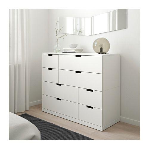 Nordli Cassettiera Con 8 Cassetti Bianco 120x99 Cm Ikea It White Bedroom Furniture Ikea Bedroom 8 Drawer Dresser