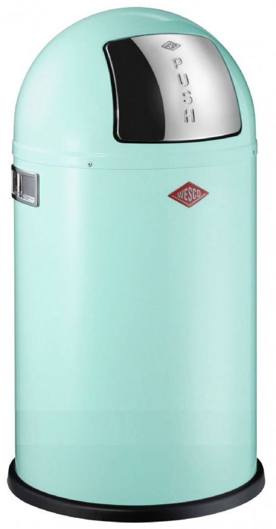 wesco 175831-51 pushboy mint 50-liter mülleimer: amazon.de: küche