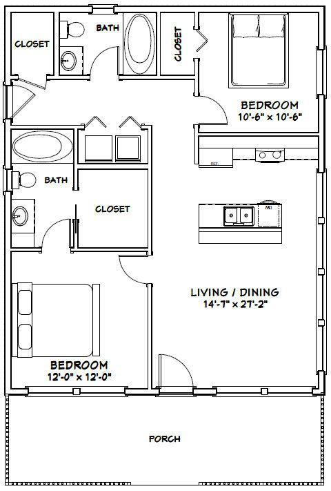 Pin By Jess Schmidt On Garage Apartment Tiny House Floor Plans Small House Floor Plans Tiny House Plans