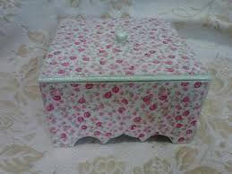 Resultado de imagem para caixa mdf decorada com tecido