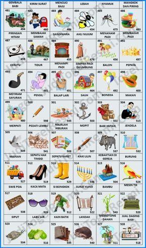♠ Buku mimpi togel bergambar 3d