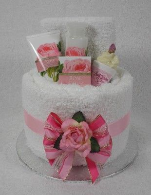 small pamper baskets | Pamper Cakes / Gift Cakes for any Occasion