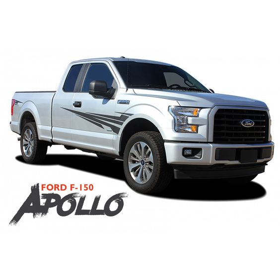 Ford F 150 Apollo Side Door Splash Design Rally Stripes Vinyl Graphics Decals Kit For 2015 2016 2017 2018 2019 2020 Rally Stripes Vinyl Graphics Ford F150