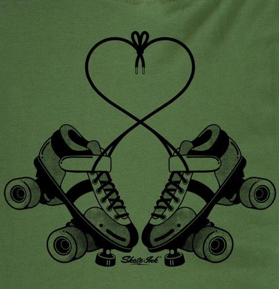 Roller derby love.