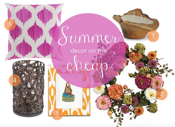 Summer decor inspiration