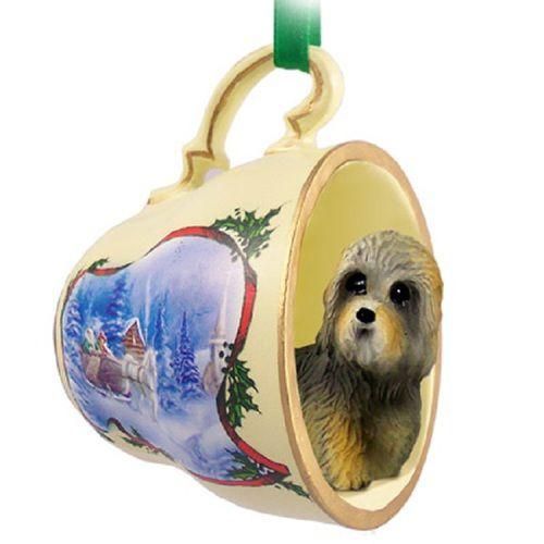 Dandie Dinmont Dog Breed Decorative Sleigh Tea Cup