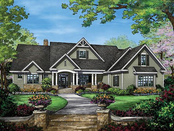 Eplans craftsman style house plan awesome ranch 2863 for Eplan house plans