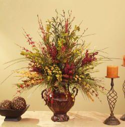 Romantic Silk Flower Arrangements And Romantic Bedroom