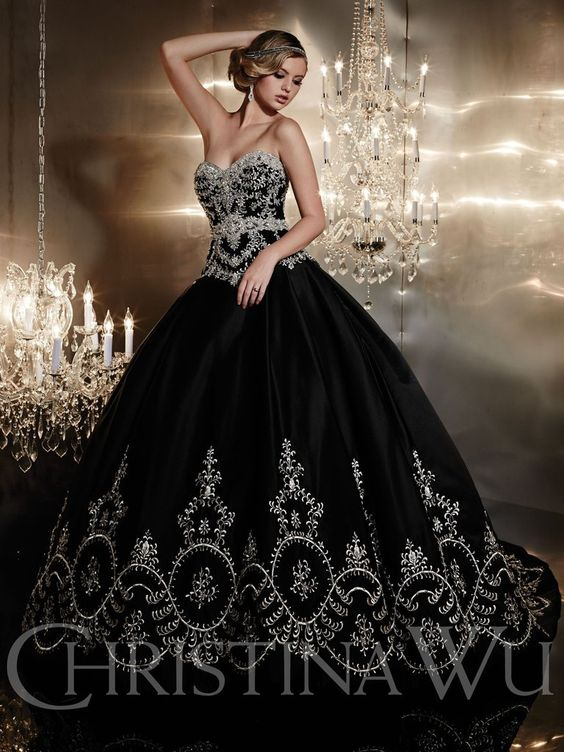 this black wedding dress si what you are searching for