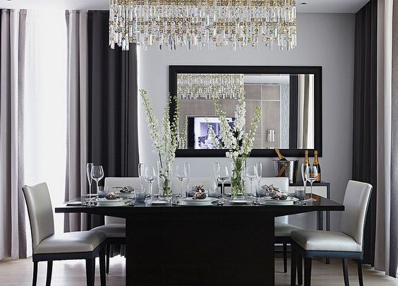 25 Elegant And Exquisite Gray Dining Room Ideas Contemporary
