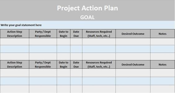 simple BCG matrix template excel   Project Management   Pinterest ...